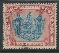 North Borneo SG 109 Used  perf 14 see details error inscription see scans