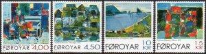 Faroe Islands 2001 #397-400 MNH. Paintings