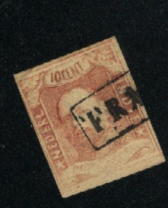 Netherlands-Indies 1  Used 1864 PD
