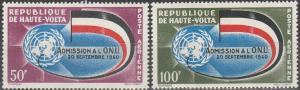 Burkina Faso #C5-6  MNH VF CV $2.50 (SU2208)