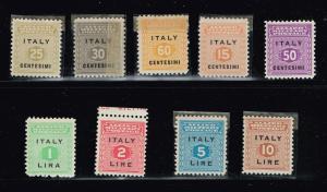 ITALY STAMP OCCUPATION MNH/OG STAMPS LOT