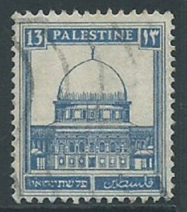 Palestine, Sc #74, 13m Used