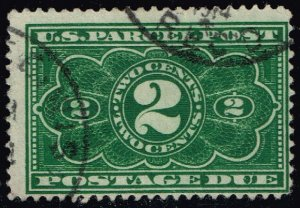 US #JQ2 Parcel Post Postage Due; Used (2Stars)