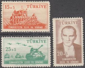 Turkey #B70-2 MNH F-VF (SU3162L)