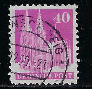 Germany AM Post Scott # 651, used