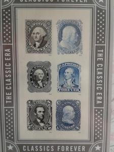 AMAZING CLASSICAL CLASSICS FOREVER STAMPS !! BEAUTIFUL !!