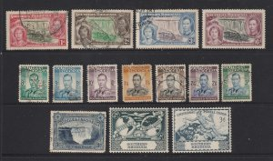 Southern Rhodesia a small used lot KGVI era