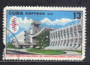 CUBA SC# 1988  **USED** 1975   13c   SEE SCAN
