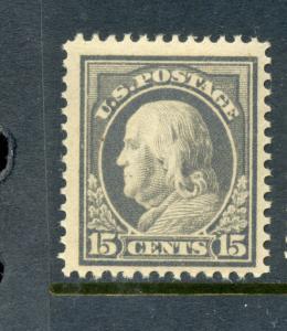 Scott #418 Franklin Perf 12 Mint Stamp NH (Stock #418-18)