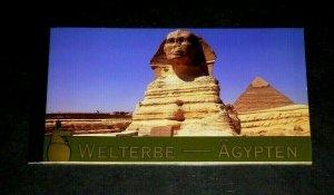 U.N. 2005, VIENNA #370, WORLD HERITAGE, EGYPT, MNH, PRESTIGE BOOKLET, LQQK