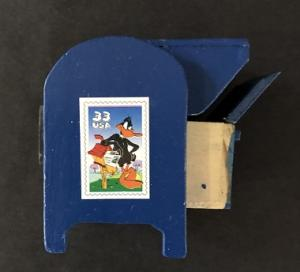 Looney Tunes Daffy Duck Coil Stamp Dispenser - previously owned