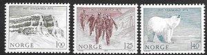 Norway 651-53  1975  set 3  VF NH