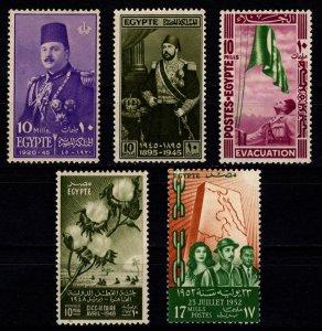 Egypt 1945-52 Various commemoratives [Unused]