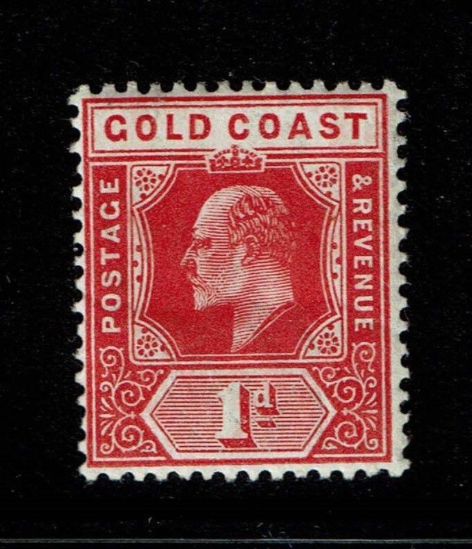 Gold Coast SG# 60, Mint Hinged - S1005