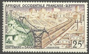 FRENCH WEST AFRICA SCOTT C24