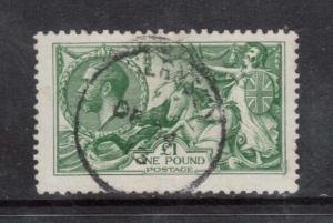 Great Britain #176 VF Used With CDS Cancel