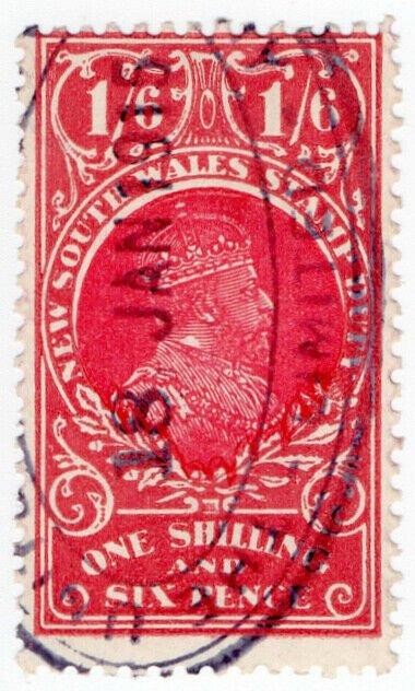 (I.B) Australia - NSW Revenue : Stamp Duty 1/6d (1914)
