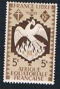 French Equatorial Africa 142 MLH Phoenix (BP834)
