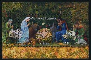 Wallis & Futuna 630 MNH Christms, Creche
