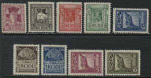 Italy 1929 Rhodes complete set mint o.g. hinged