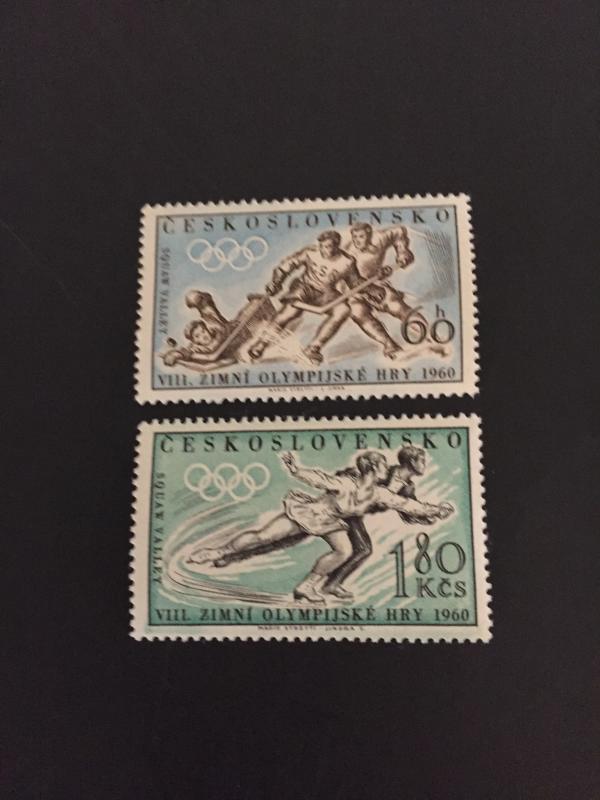 Czechoslovakia #965-966**