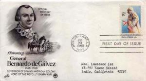 United States, First Day Cover, Louisiana