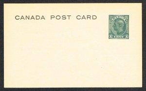 Canada Postal Card Webb P168