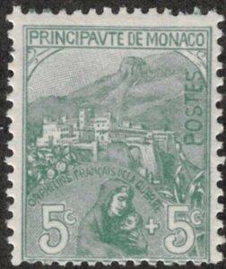 Monaco #B3 M/H 25% of SCV $17.50 **FREE SHIPPING**