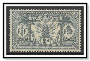 New Hebrides - British #34 Native Idols MH