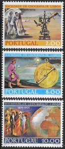 Portugal 1267-1269 Unused/Hinged - Centenary of the Geographical Society