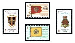 Hong Kong 725-28 MNH 1995 Royal Hong Kong Regiment