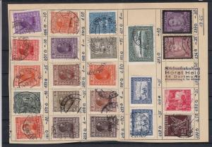 Yugoslavia USED Stamps Page Ref 30618