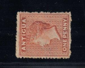 Antigua, SG 7b, MHR Watermark Sideways variety