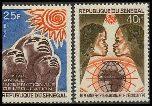 Senegal 334-335 Mint VF LH