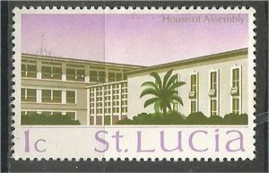 ST. LUCIA 1970, MH, 1c  House of Assembly Scott 261