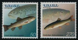 Armenia 606-7 MNH Fish
