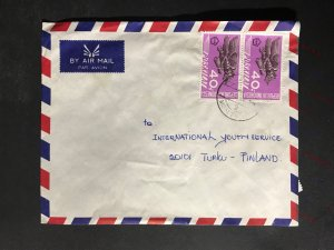 Indonesia #780//B242 Cover to Finland (1970-1999) Cover #4776