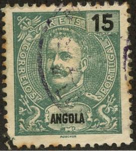 Angola, Scott #42, Used