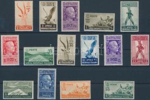Italian East Africa stamp Italian East Africa MNH 1938 Mi 1-14 + 20 WS148718
