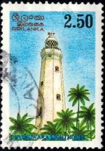 Lighthouse, Devinuwara, Sri Lanka stamp SC#1149a used