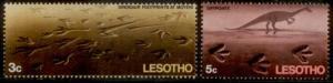Lesotho 1970 SC# 75-6 MNH  L59