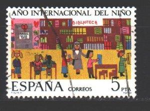 Spain. 1979. 2411. International Children's Day. USED.