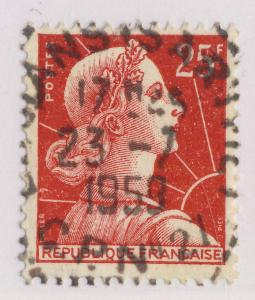 FRANCE - 1959 - CAD P.A.R.  LE MANS (SARTHE) / C.P. N°27  sur n°1011C