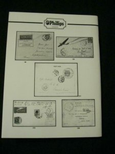 PHILLIPS AUCTION CATALOGUE 1995 AIRMAILS OF THE WORLD 'WILSON' COLLECTION