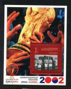 Georgia 308, MNH. 2002 World Cup Soccer Championship 2003. x27843
