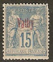 France Off Turkey Vathy 4 Cer 6 MLH VF 1893 SCV $16