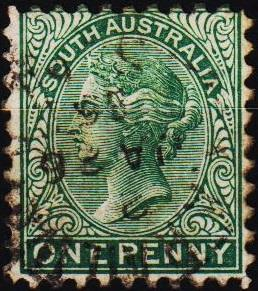 South Australia. 1868 1d S.G.173 Fine Used