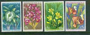 Br. Honduras # 226-29 Orchids of Belize (4) Mint NH