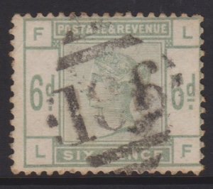 Great Britain Sc#105 Used in Ireland