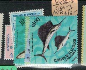 El Salvador SC 823-5, C301-3 MNH (7ecq)